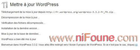 téléchargement mise à jour wordpress 3.3.2