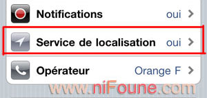 geolocalisation facebook