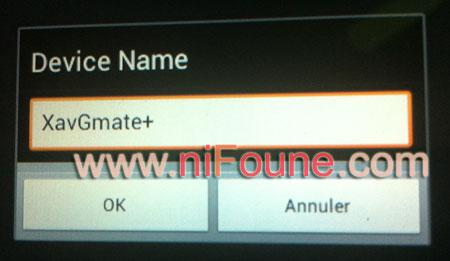 device name