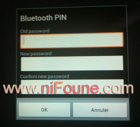 bluetooth pin
