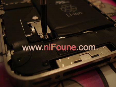 comment réparer iphone 4 oxydé