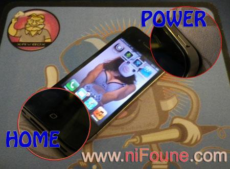 iphone en mode DFU