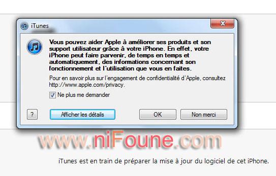 amélioration apple