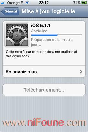 téléchargement ios 5.1.1