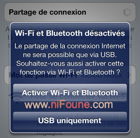 activation wifi