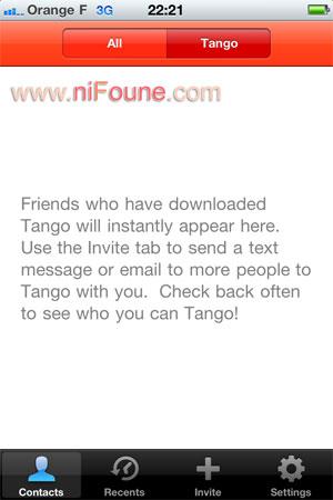 tango inviation