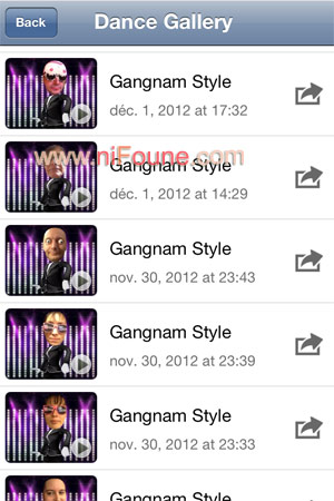 options Gangnam DanceBooth
