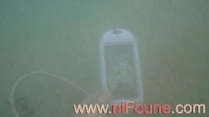 iphone 4s dans l'eau