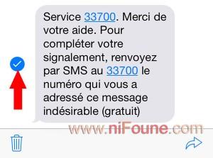 transfert sms au 33700